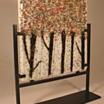 Autumn Trees – Fused Glass Art  – #FS49