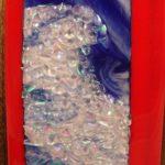 Wall Art – Fused Glass #WL104 Ocean City