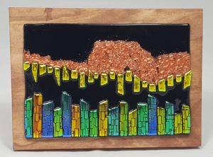 Fused Glass Art, Mountain City – #WS205