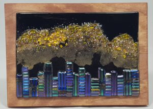 Fused Glass Art, Mountain City – #WS206