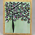 Dichroic Abstract Tree – #WS270